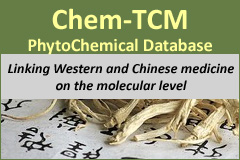 Chem-TCM is the digital database of molecules from plants used in the traditional Chinese medicine